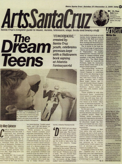 """Dream Teens"" - Metro Santa Cruz"